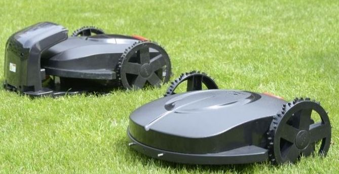 Mähroboter / Rasenroboter RoboGoat 5001 24 V / 7 Ah Schnittbreite 32cm Bild 3
