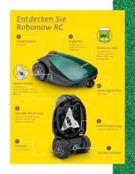 Robomow Mähroboter / Rasenroboter RC Stylish 304u SB 28cm Bild 3
