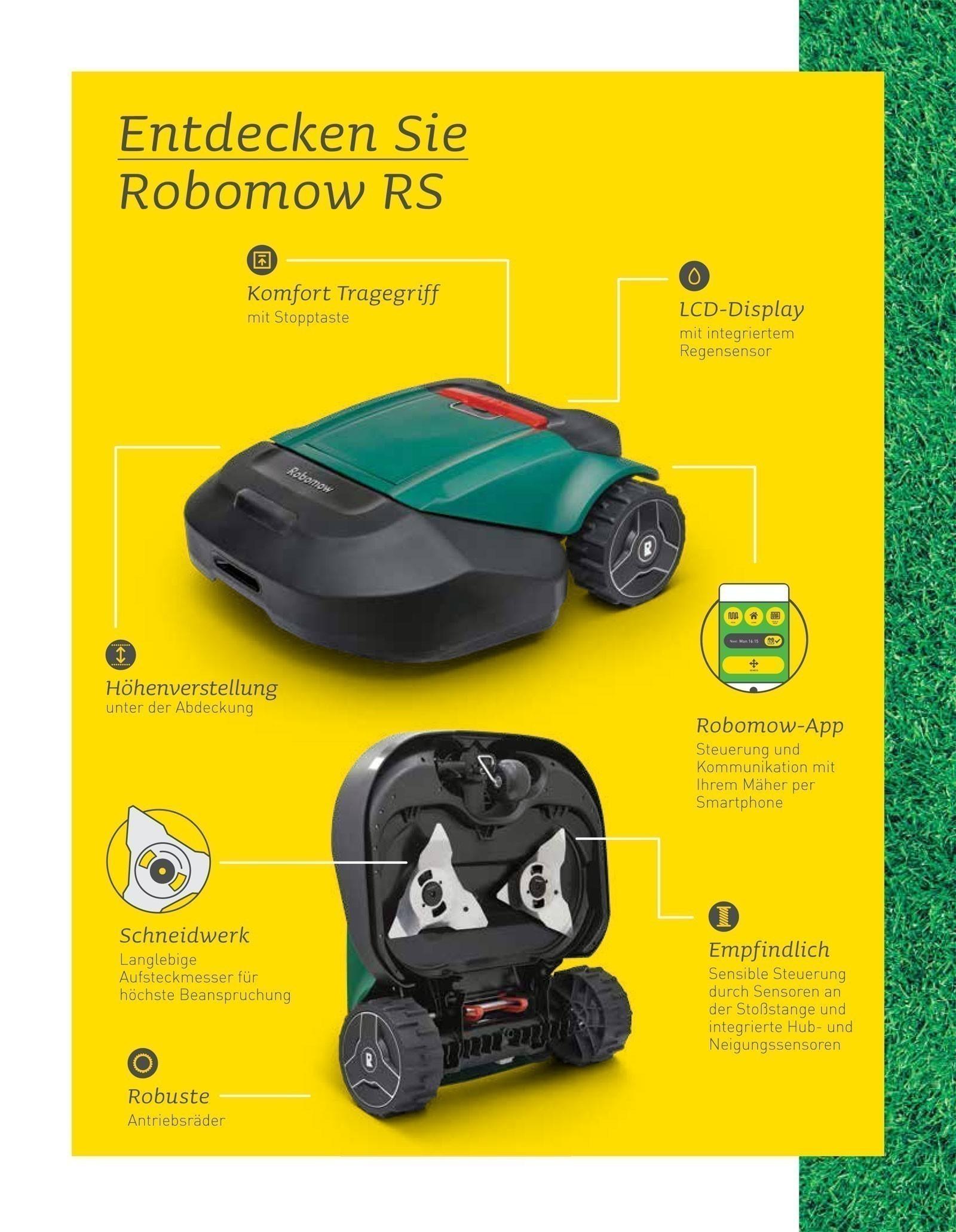 Robomow Mähroboter / Rasenroboter RS Royal 615u SB 56cm Bild 3