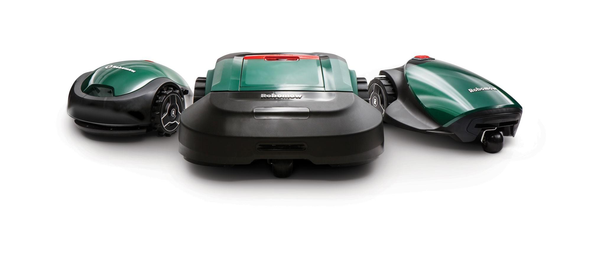 Robomow Mähroboter / Rasenroboter RX Clever 12u  SB 18cm Bild 2