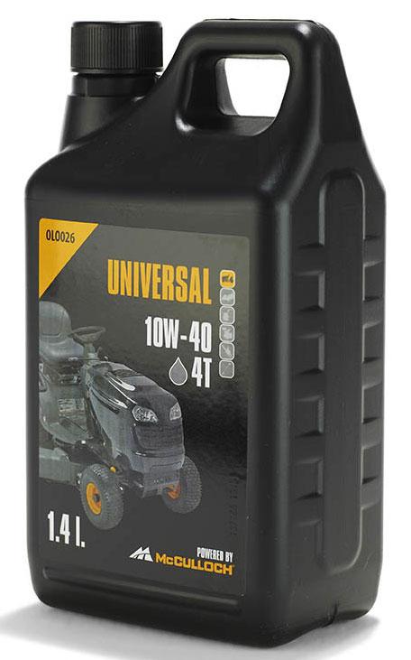 4-Takt-Motor Öl OLO026 1,4 Liter für McCulloch Rasenmähertraktoren Bild 1