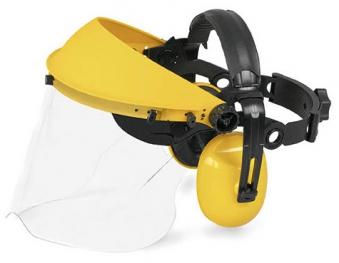 McCulloch Gehörschutz mit Kunststoff-Visier PRO004 Bild 1