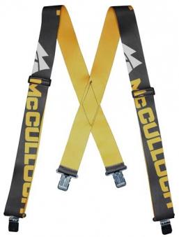 McCulloch Hosenträger mit Clips CLO030