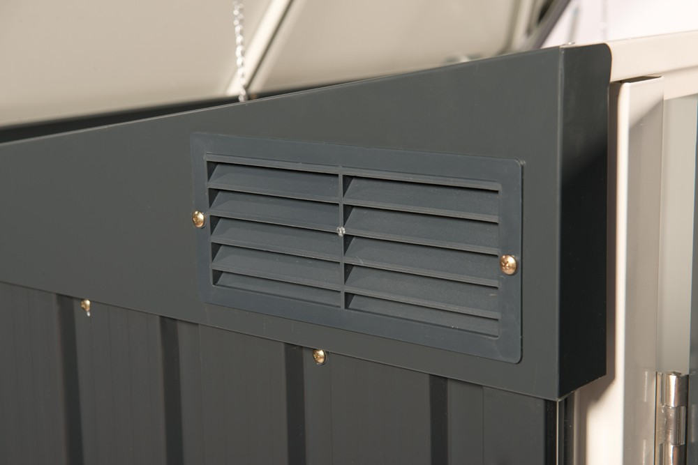 duramax m lltonnenbox f r 2 tonnen metall anthrazit wei 154x96x130cm bei. Black Bedroom Furniture Sets. Home Design Ideas