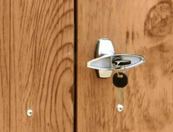 duramax m lltonnenbox f r 2 tonnen metall dekor eiche 154x96x130cm bei. Black Bedroom Furniture Sets. Home Design Ideas