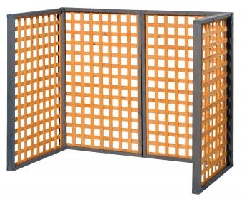 Erweiterungselement für Holz Mülltonnenbox Zell Bild 2