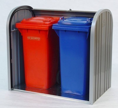 Gartenbox / Auflagenbox Biohort Storemax 120 dunkelgrau-metallic Bild 2