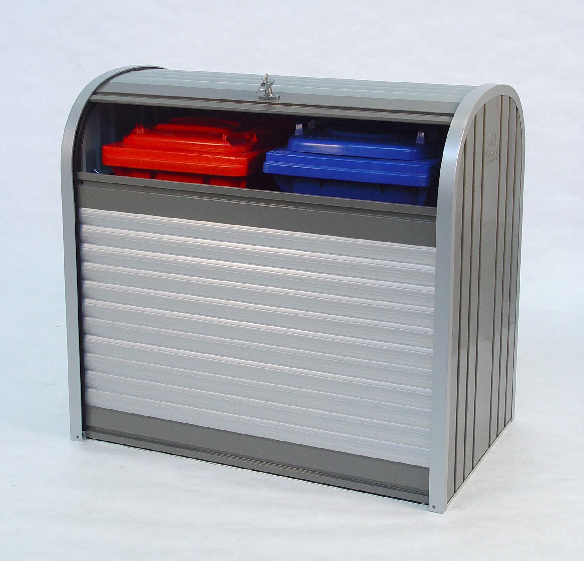 Gartenbox / Auflagenbox Biohort Storemax 120 quarzgrau Bild 4