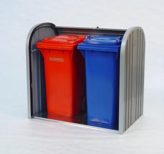 Gartenbox / Auflagenbox Biohort Storemax 120 quarzgrau Bild 3