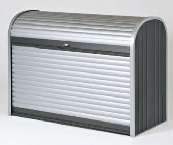 Gartenbox / Auflagenbox Biohort Storemax 160 dunkelgrau-metallic Bild 1