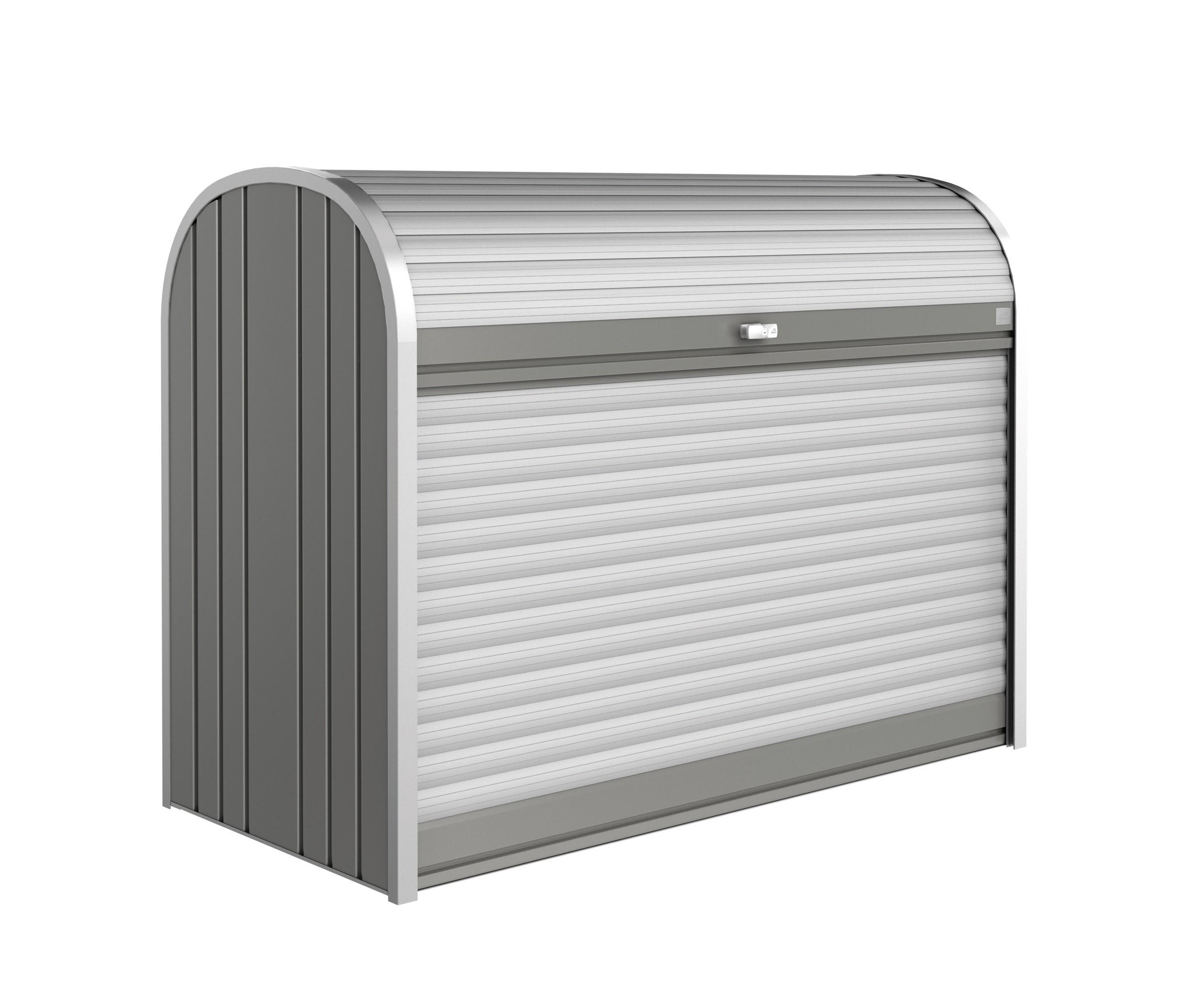 Gartenbox / Auflagenbox Biohort Storemax 160 quarzgrau Bild 1