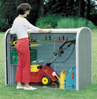 Gartenbox / Auflagenbox Biohort Storemax 160 silber-metallic Bild 3