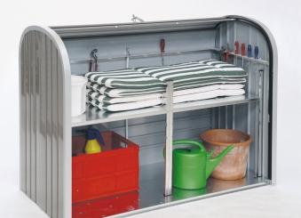 Gartenbox / Auflagenbox Biohort Storemax 190 quarzgrau Bild 4
