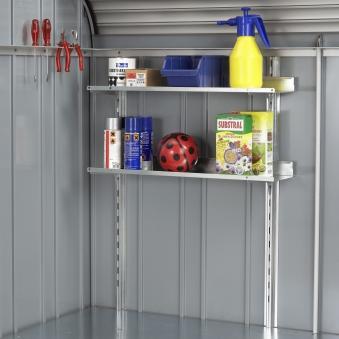 Regale Set Biohort für Gartenbox / Auflagenbox Storemax 190