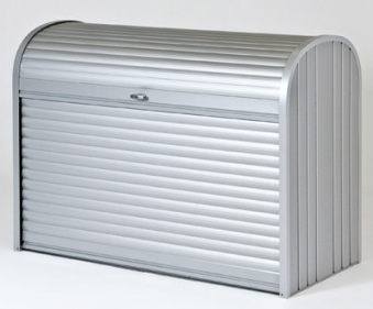 Gartenbox / Auflagenbox Biohort Storemax 190 silber-metallic Bild 1
