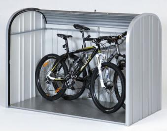 Gartenbox / Auflagenbox Biohort Storemax 190 silber-metallic Bild 2