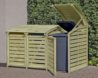 m lltonnenbox m lltonnenverkleidung f r 3 m lltonnen kdi bei. Black Bedroom Furniture Sets. Home Design Ideas