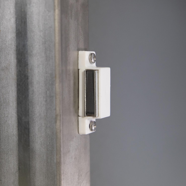 Mülltonnenbox für 3 Mülltonnen mit Klappdeckel grau DB703/RAL9006 Bild 7