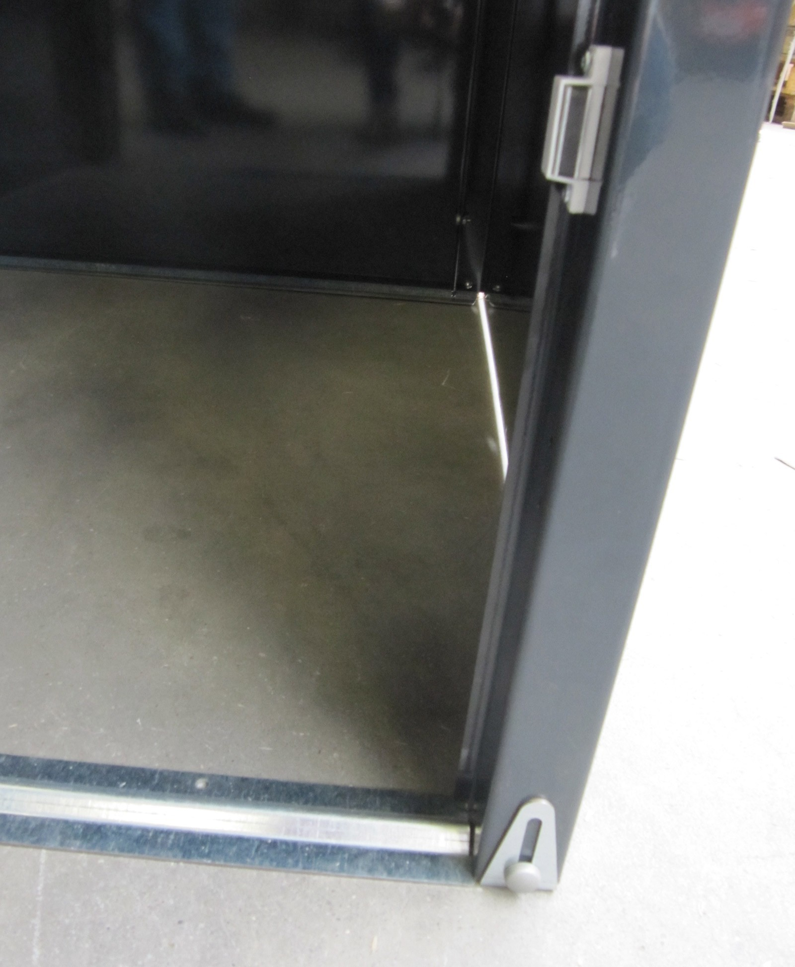 Universalbox / Mülltonnenbox Metall anthrazit 71x82x120cm Bild 3