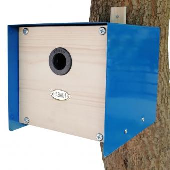 Nistkasten Cube Habau 20x20x20cm blau Bild 1