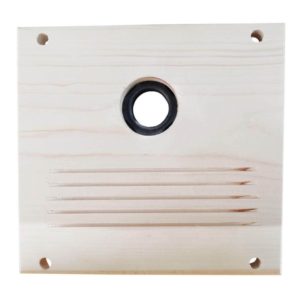 Nistkasten Cube Habau 20x20x20cm rot Bild 3