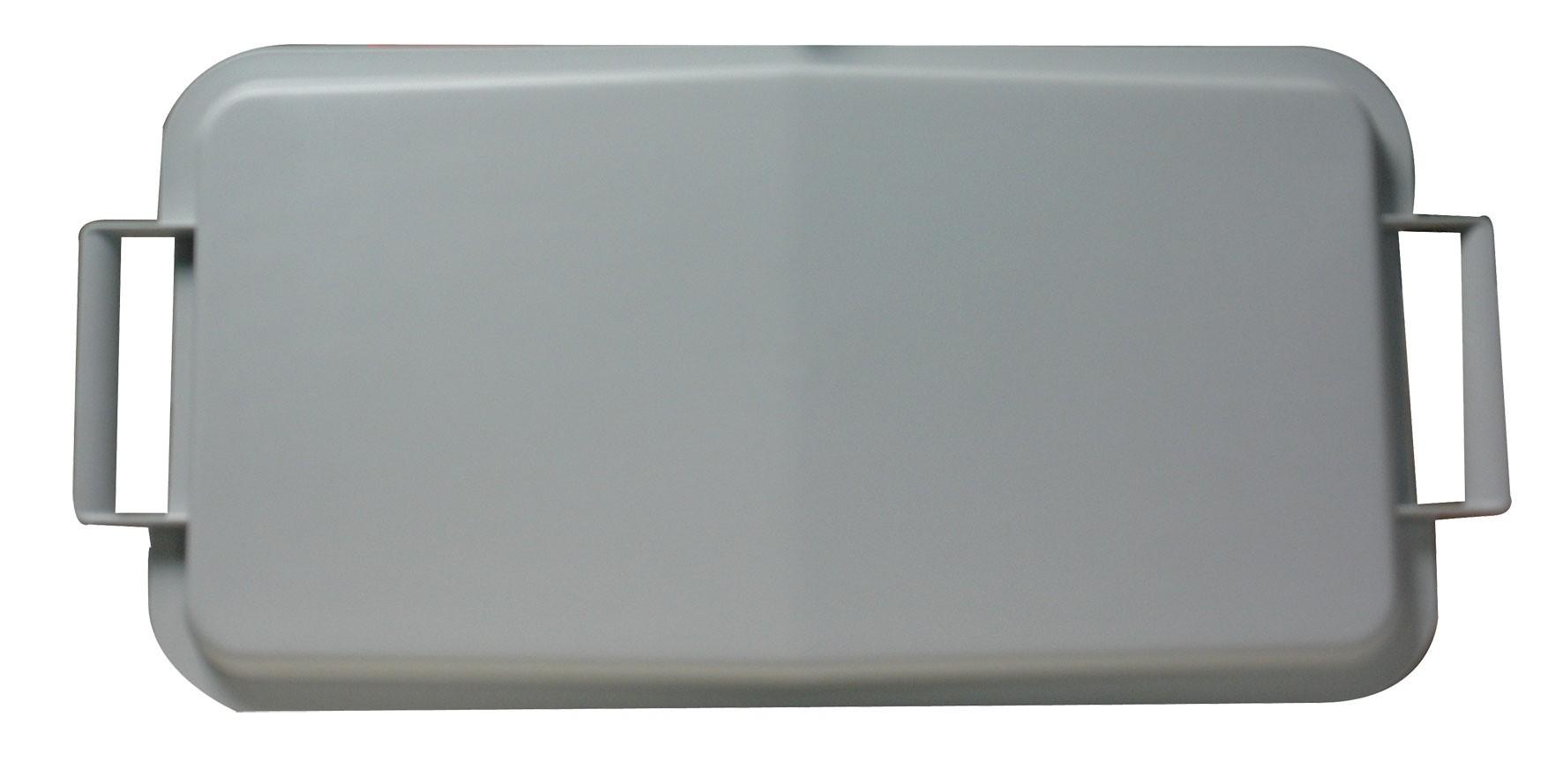 Deckel für Mehrzweck-Behälter eckig 60Liter grau Graf 778048 Bild 1