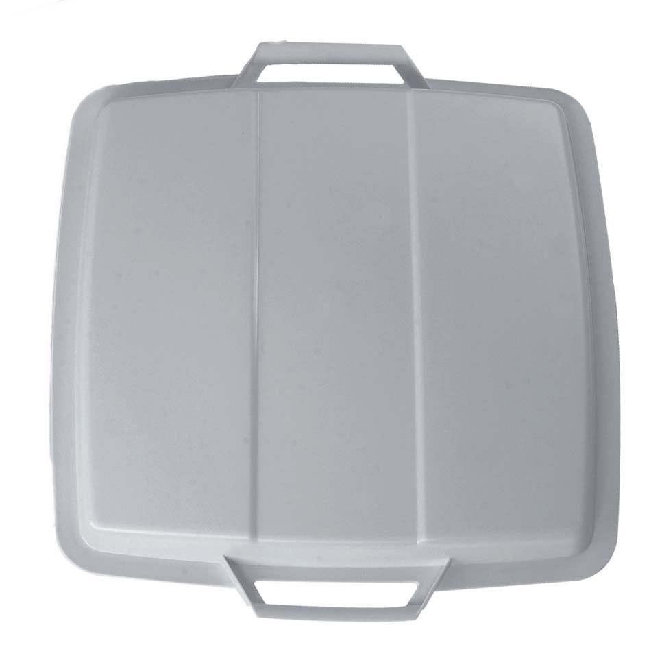Deckel für Mehrzweck-Behälter eckig 90 Liter grau Graf 778049 Bild 1