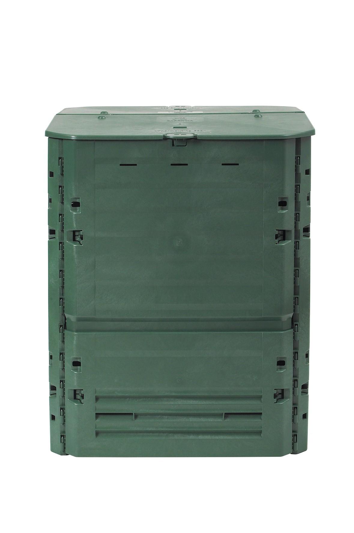 komposter thermokomposter thermo king gr n 600 liter garantia 626002 bei. Black Bedroom Furniture Sets. Home Design Ideas