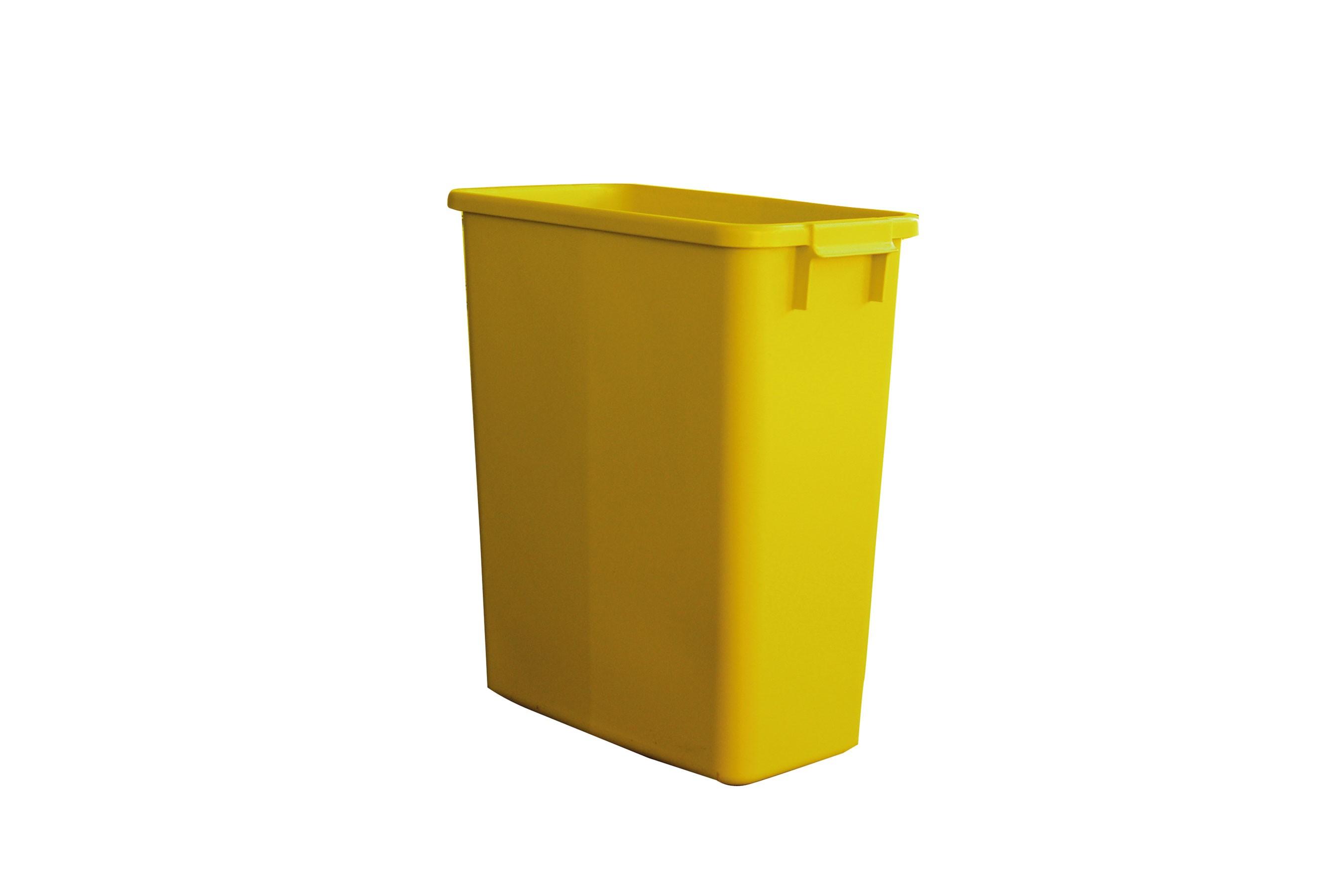 Mehrzweck-Behälter 60 Liter eckig gelb Graf 778011 Bild 1