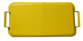 Deckel für Mehrzweck-Behälter eckig 60Liter gelb Graf 778041