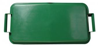 Deckel für Mehrzweck-Behälter eckig 60Liter grün Graf 778042