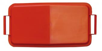 Deckel für Mehrzweck-Behälter eckig 60Liter rot Graf 778043
