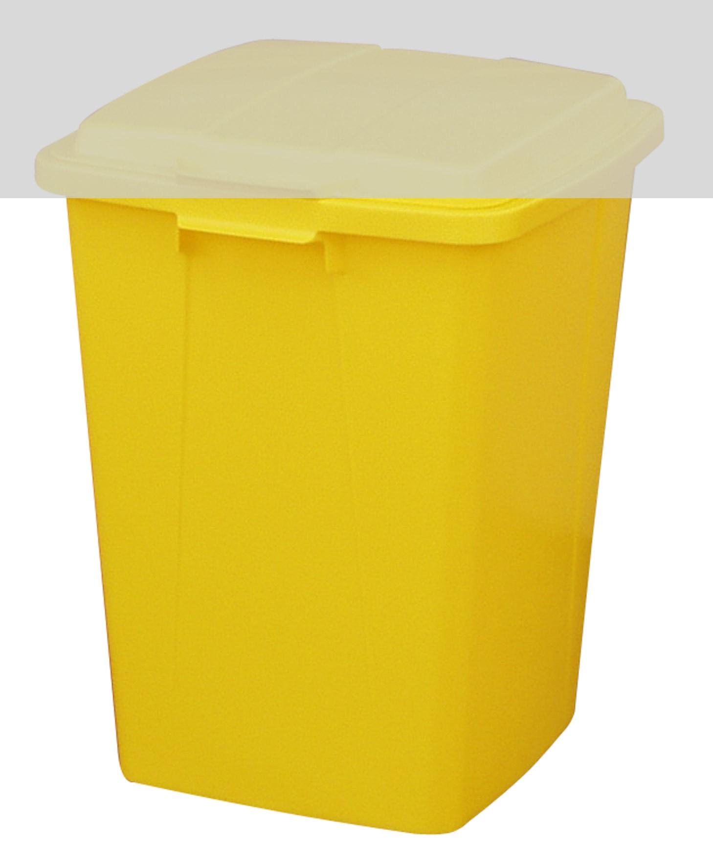 Mehrzweck-Behälter 90 Liter eckig gelb Graf 778021 Bild 1