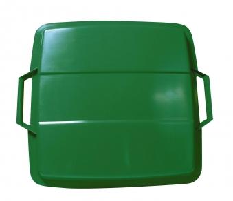 Deckel für Mehrzweck-Behälter eckig 90 Liter grün Graf 778046