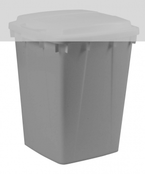 Mehrzweck-Behälter 90 Liter eckig grau Graf 778023 Bild 1