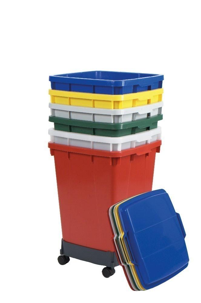 Mehrzweck-Behälter 90 Liter eckig rot Graf 778024 Bild 2