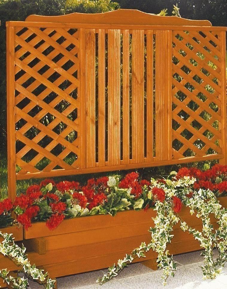 blumenkasten mit spalier arlberg 140x142x47cm bei. Black Bedroom Furniture Sets. Home Design Ideas