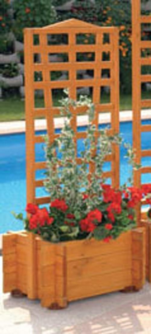 Blumenkasten mit Spalier Mirabell 55x130cm Bild 1