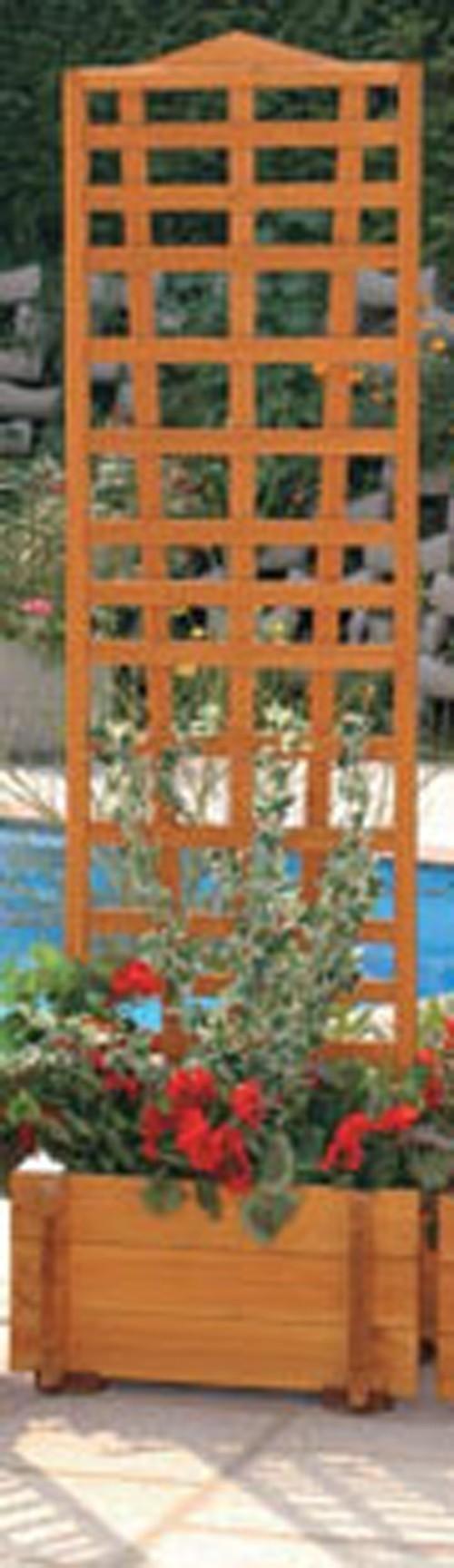 Blumenkasten mit Spalier Mirabell 55x180cm Bild 1