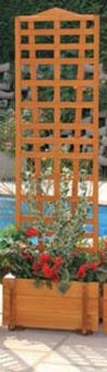 blumenkasten mit spalier mirabell 55x180cm bei. Black Bedroom Furniture Sets. Home Design Ideas