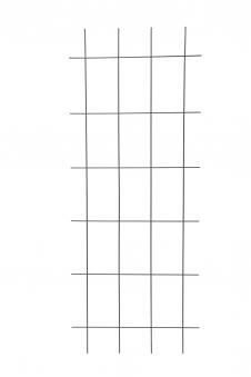 Gitterspalier / Rankhilfe Rechteckform floraworld anthrazit 60x150cm Bild 1