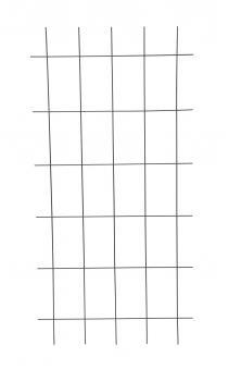 Gitterspalier / Rankhilfe Rechteckform floraworld braun 75x150cm Bild 1