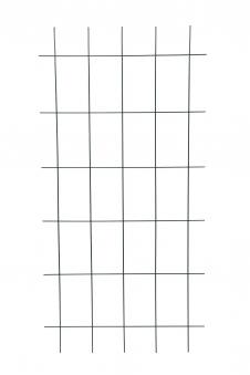 Gitterspalier / Rankhilfe Rechteckform floraworld grün 75x150cm Bild 1