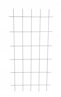Gitterspalier / Rankhilfe Rechteckform floraworld weiß 75x150cm Bild 1
