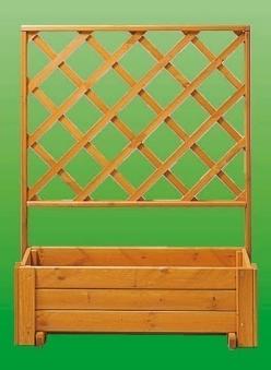 Rankkasten Blumenkasten + Spalier Blumenkastensystem Wachau 105x133cm