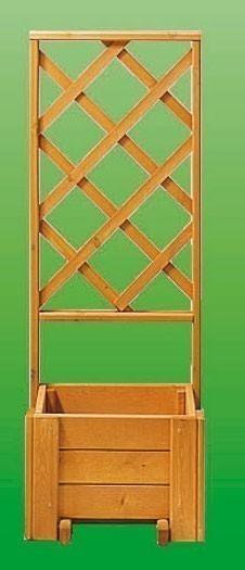 Rankkasten Blumenkasten + Spalier Blumenkastensystem Wachau 50x133cm Bild 1