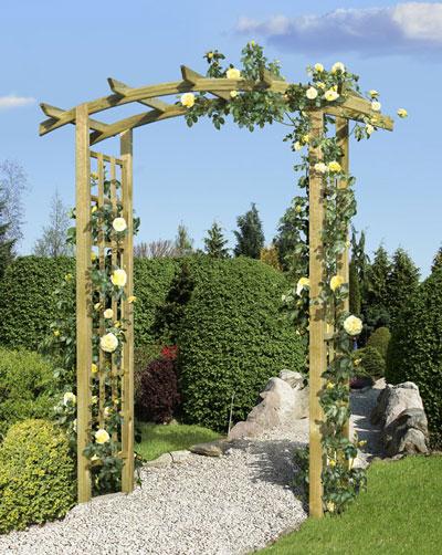 rosenbogen holz kdi 160x72x210cm - bei edingershops.de,