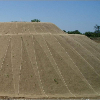 Böschungsmatte / Erosionsschutzmatte Noor Jutegewebe 1,22x50m 250g/m² Bild 1