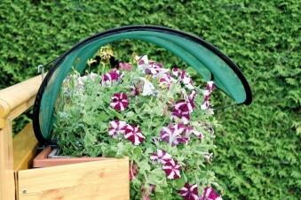 Balkonblumenschutz Pflanzenschutz 3er Set Bild 2