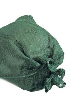 Jutesack Noor S 60x105cm grün H 215 Bild 1